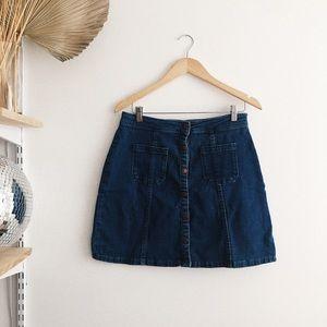 Dresses & Skirts - Denim Mini Skirt